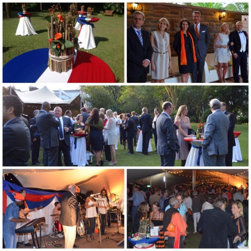 Dutch King's Day celebration at the Residence of the ambassador.